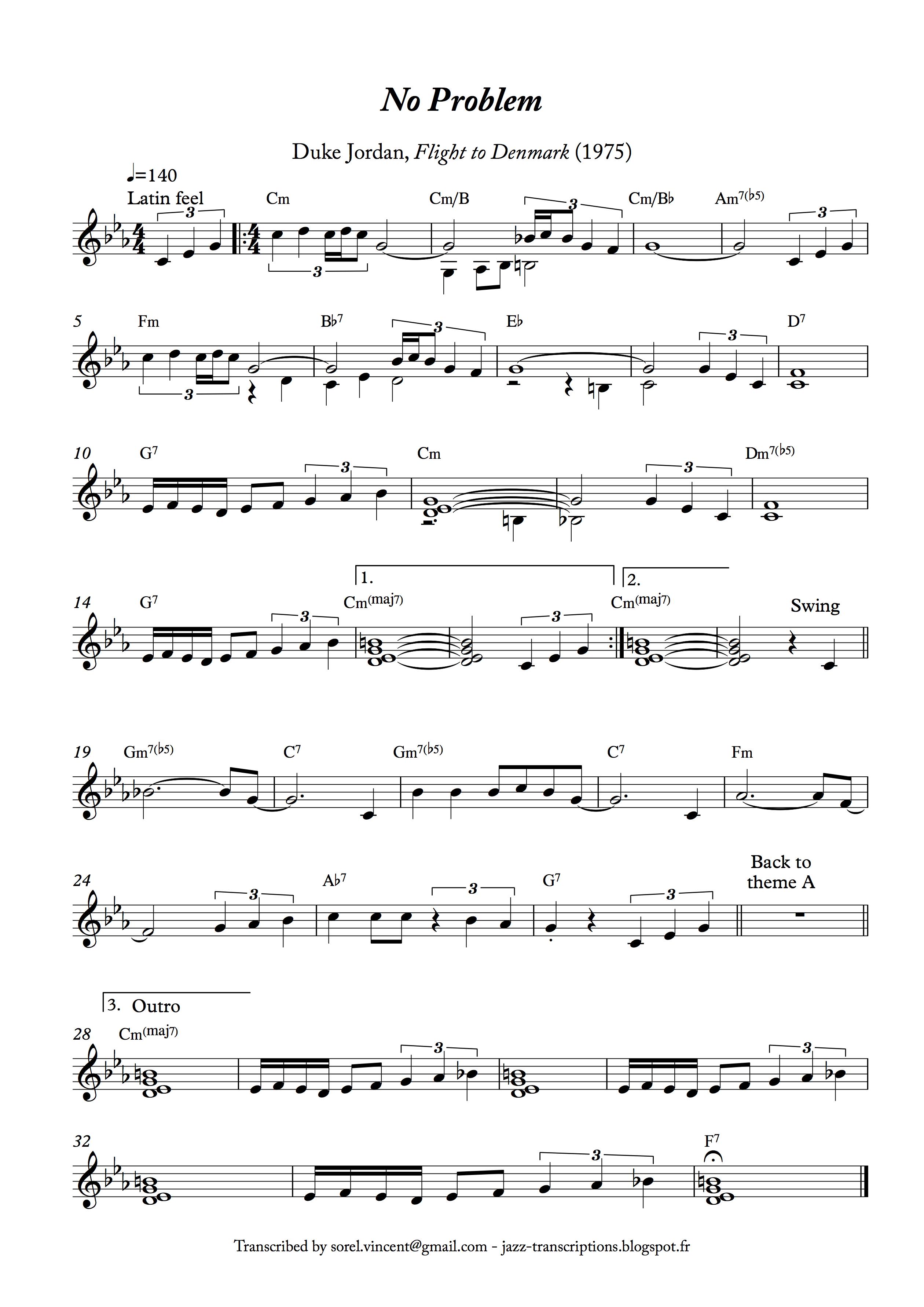 Jazz Transcriptions: 2010